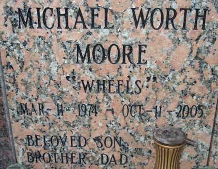 MOORE, MICHAEL WORTH - Maricopa County, Arizona | MICHAEL WORTH MOORE - Arizona Gravestone Photos