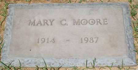 MOORE, MARY C. - Maricopa County, Arizona | MARY C. MOORE - Arizona Gravestone Photos