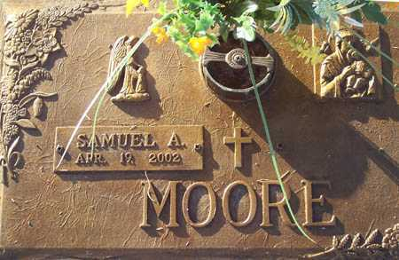 MOORE, SAMUEL A. - Maricopa County, Arizona   SAMUEL A. MOORE - Arizona Gravestone Photos
