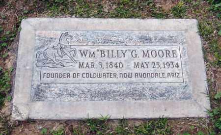 "MOORE, WILLIAM GRAHAM ""BILLY"" - Maricopa County, Arizona | WILLIAM GRAHAM ""BILLY"" MOORE - Arizona Gravestone Photos"