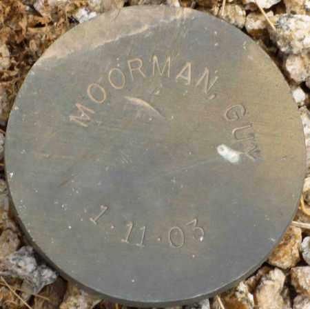 MOORMAN, GUY - Maricopa County, Arizona | GUY MOORMAN - Arizona Gravestone Photos