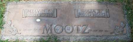 MOOTZ, JULIA T. - Maricopa County, Arizona | JULIA T. MOOTZ - Arizona Gravestone Photos