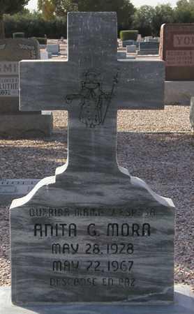 MORA, ANITA G. - Maricopa County, Arizona | ANITA G. MORA - Arizona Gravestone Photos