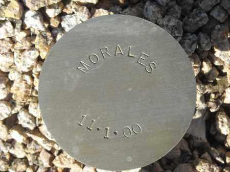 MORALES, (NOT LISTED) - Maricopa County, Arizona   (NOT LISTED) MORALES - Arizona Gravestone Photos