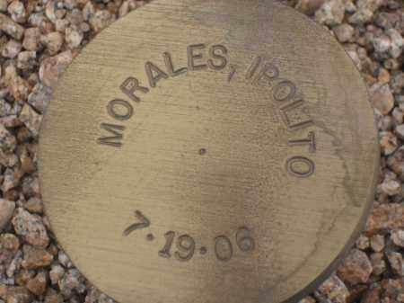 MORALES, IPOLITO - Maricopa County, Arizona | IPOLITO MORALES - Arizona Gravestone Photos