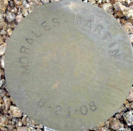 MORALES, MARTIN - Maricopa County, Arizona   MARTIN MORALES - Arizona Gravestone Photos