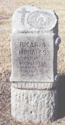 MORALES, RICARDO - Maricopa County, Arizona | RICARDO MORALES - Arizona Gravestone Photos