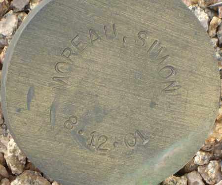 MOREAU, SIMON - Maricopa County, Arizona | SIMON MOREAU - Arizona Gravestone Photos