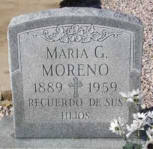 MORENO, MARIA G. - Maricopa County, Arizona | MARIA G. MORENO - Arizona Gravestone Photos