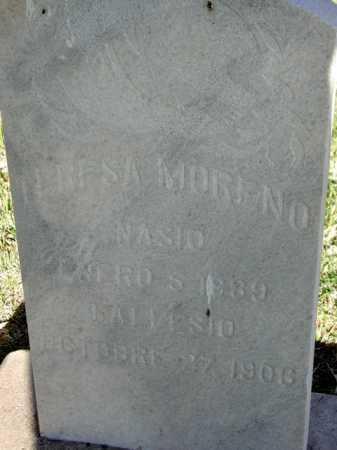 MORENO, TERESA - Maricopa County, Arizona   TERESA MORENO - Arizona Gravestone Photos
