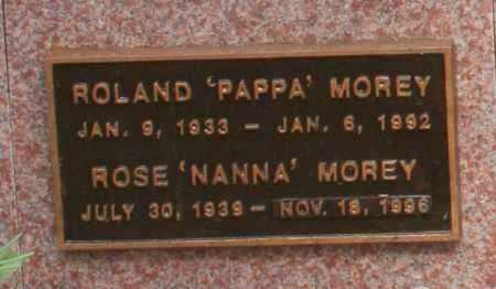 MOREY, ROLAND - Maricopa County, Arizona | ROLAND MOREY - Arizona Gravestone Photos