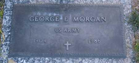 MORGAN, GEORGE E. - Maricopa County, Arizona | GEORGE E. MORGAN - Arizona Gravestone Photos