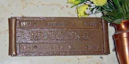 MORLONG, EDWARD D. - Maricopa County, Arizona   EDWARD D. MORLONG - Arizona Gravestone Photos