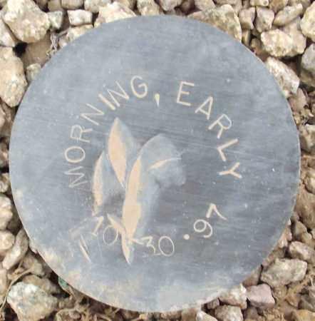MORNING, EARLY - Maricopa County, Arizona | EARLY MORNING - Arizona Gravestone Photos