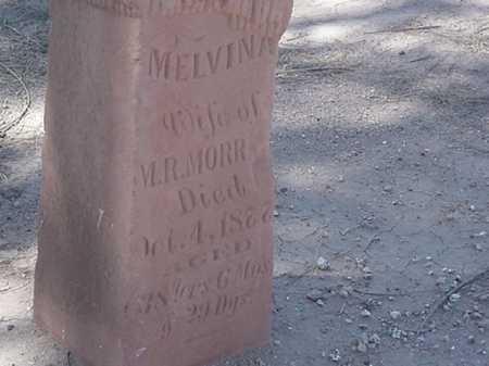 MORRELL, MELVINA - Maricopa County, Arizona   MELVINA MORRELL - Arizona Gravestone Photos