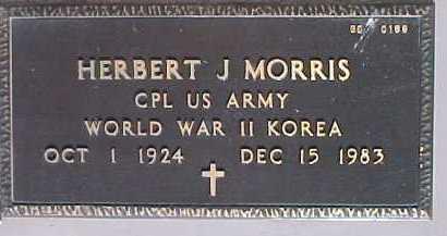 MORRIS, HERBERT J. - Maricopa County, Arizona | HERBERT J. MORRIS - Arizona Gravestone Photos