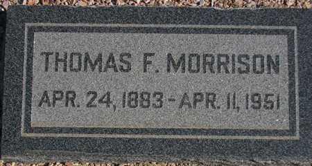 MORRISON, THOMAS F. - Maricopa County, Arizona   THOMAS F. MORRISON - Arizona Gravestone Photos