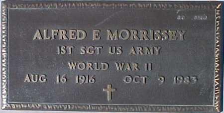 MORRISSEY, ALFRED E. - Maricopa County, Arizona   ALFRED E. MORRISSEY - Arizona Gravestone Photos