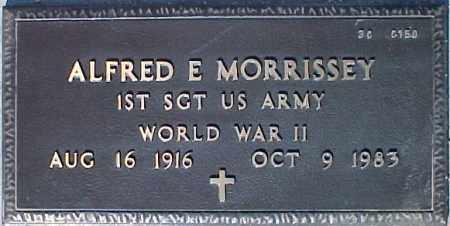 MORRISSEY, ALFRED E. - Maricopa County, Arizona | ALFRED E. MORRISSEY - Arizona Gravestone Photos