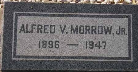 MORROW, ALFRED V., JR. - Maricopa County, Arizona | ALFRED V., JR. MORROW - Arizona Gravestone Photos