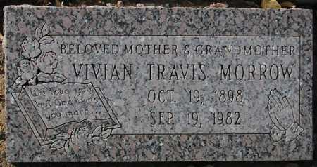 MORROW, VIVIAN TRAVIS - Maricopa County, Arizona   VIVIAN TRAVIS MORROW - Arizona Gravestone Photos
