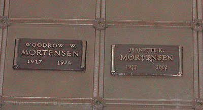 ERICKSON MORTENSEN, JEANETTE KATHLEEN - Maricopa County, Arizona | JEANETTE KATHLEEN ERICKSON MORTENSEN - Arizona Gravestone Photos