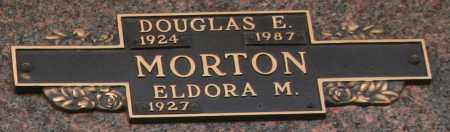 MORTON, DOUGLAS E - Maricopa County, Arizona | DOUGLAS E MORTON - Arizona Gravestone Photos