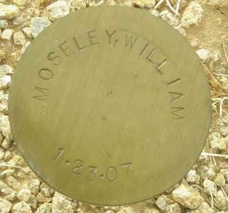 MOSELEY, WILLIAM - Maricopa County, Arizona | WILLIAM MOSELEY - Arizona Gravestone Photos