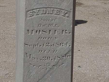 MOSIER, SYDNEY - Maricopa County, Arizona | SYDNEY MOSIER - Arizona Gravestone Photos