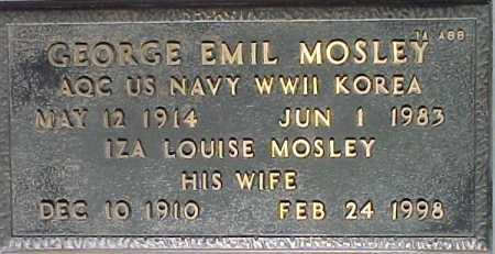MOSLEY, IZA LOUISE - Maricopa County, Arizona | IZA LOUISE MOSLEY - Arizona Gravestone Photos