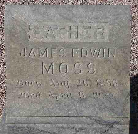 MOSS, JAMES EDWIN - Maricopa County, Arizona | JAMES EDWIN MOSS - Arizona Gravestone Photos