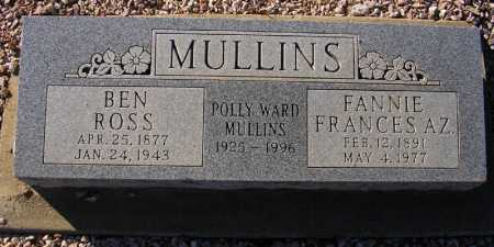 MULLINS, POLLY WARD - Maricopa County, Arizona | POLLY WARD MULLINS - Arizona Gravestone Photos