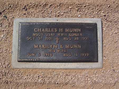 MUNN, CHARLES - Maricopa County, Arizona | CHARLES MUNN - Arizona Gravestone Photos