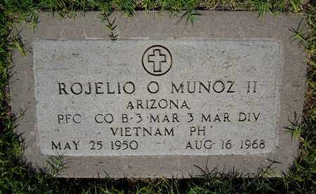 MUNOZ, ROJELIO O., II - Maricopa County, Arizona   ROJELIO O., II MUNOZ - Arizona Gravestone Photos