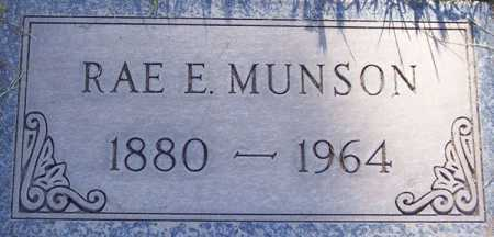 MUNSON, RAE E. - Maricopa County, Arizona | RAE E. MUNSON - Arizona Gravestone Photos