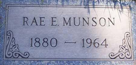 MUNSON, RAE E. - Maricopa County, Arizona | RAE E. MUNSON - Arizona Gravestone Photos