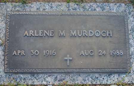 MURDOCH, ARLENE M. - Maricopa County, Arizona | ARLENE M. MURDOCH - Arizona Gravestone Photos