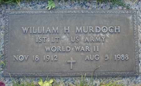 MURDOCH, WILLIAM H. - Maricopa County, Arizona   WILLIAM H. MURDOCH - Arizona Gravestone Photos