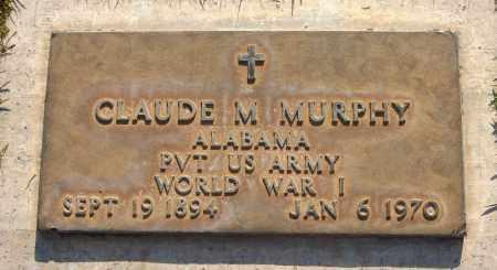 MURPHY, CLAUDE M. - Maricopa County, Arizona   CLAUDE M. MURPHY - Arizona Gravestone Photos
