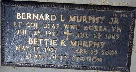 MURPHY, BERNARD L, JR - Maricopa County, Arizona | BERNARD L, JR MURPHY - Arizona Gravestone Photos