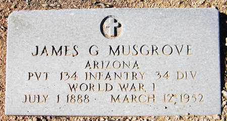 MUSGROVE, JAMES G. - Maricopa County, Arizona | JAMES G. MUSGROVE - Arizona Gravestone Photos