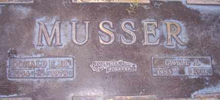 MUSSER, DONALD E., JR. - Maricopa County, Arizona   DONALD E., JR. MUSSER - Arizona Gravestone Photos