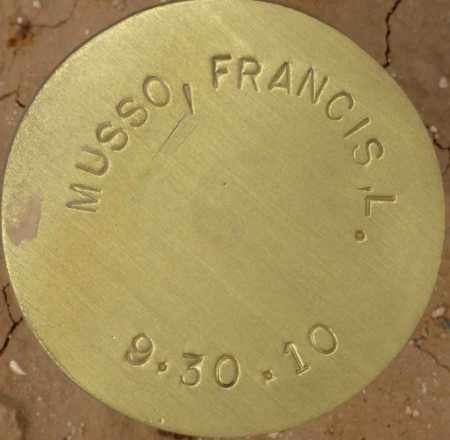MUSSO, FRANCIS L. - Maricopa County, Arizona | FRANCIS L. MUSSO - Arizona Gravestone Photos