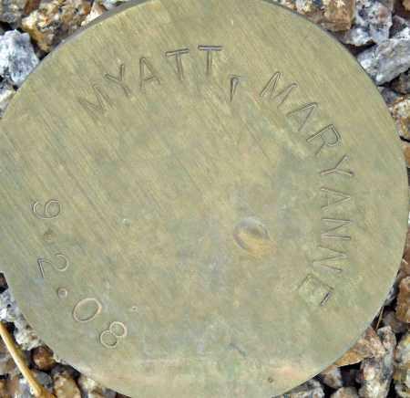 MYATT, MARYANNE - Maricopa County, Arizona | MARYANNE MYATT - Arizona Gravestone Photos