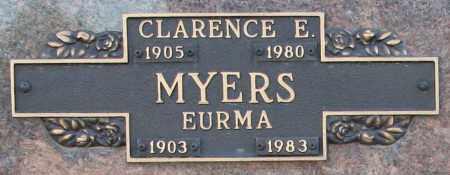 MYERS, CLARENCE E - Maricopa County, Arizona | CLARENCE E MYERS - Arizona Gravestone Photos