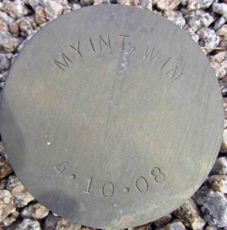 MYINT, WIN - Maricopa County, Arizona | WIN MYINT - Arizona Gravestone Photos