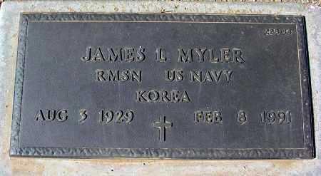 MYLER, JAMES L. - Maricopa County, Arizona | JAMES L. MYLER - Arizona Gravestone Photos