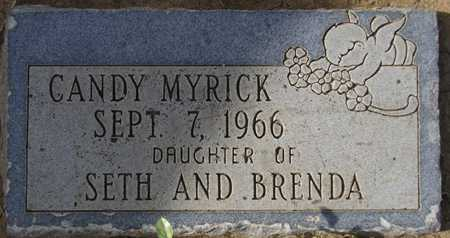MYRICK, CANDY - Maricopa County, Arizona | CANDY MYRICK - Arizona Gravestone Photos