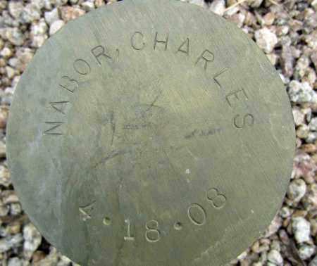 NABOR, CHARLES - Maricopa County, Arizona | CHARLES NABOR - Arizona Gravestone Photos