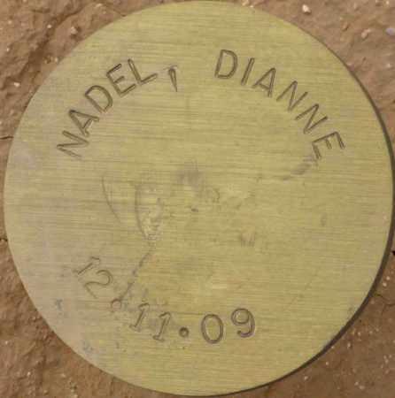 NADEL, DIANNE - Maricopa County, Arizona | DIANNE NADEL - Arizona Gravestone Photos